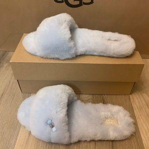 NIB UGG Fluff Slide Slippers / Women size 10 & 11